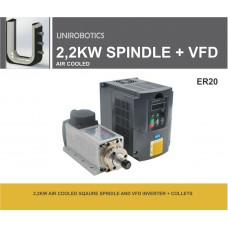 2.2KW AIR COOLED SPINDLE AND INVERTER
