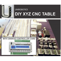 DIY CNC TABLE X Y Z  (1200mm 1200mm)