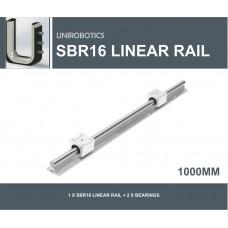 SBR16 LINEAR RAIL 1000mm