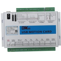 5th GEN 4 Axis Motion Controller Card (MINIMAL INTERFERENCE) 2000KHz